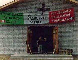 Oratorio di San Gabriele a Montreal (inaugurazione)