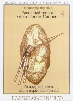 Zampogna di canna  ( Pennapiedimonte, Guardiagrele, Comino), simile a quella di Fossalto