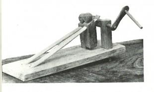 Tirëtappë, illustrazione n. 136 - Tradizioni a Cerqueto - Regione Abruzzo/ Agricoltura e Foreste - Ente Provinciale per il Turismo/ Teramo  1983 -